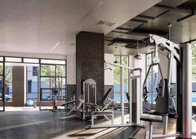 363 Bond Street Apartments fitness center