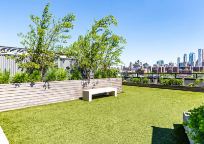 363 Bond Street Apartments Rooftop green