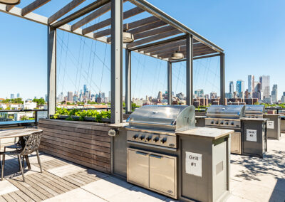 363 Bond Street Apartments BBQ grilling areas