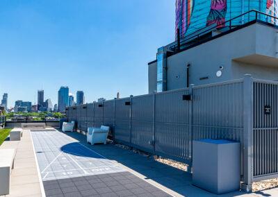 363 Bond Street rooftop pool area