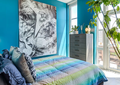 363 Bond Street apartment interior bedroom