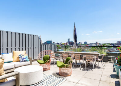 363 Bond Street Apartments rooftop views of Brooklyn