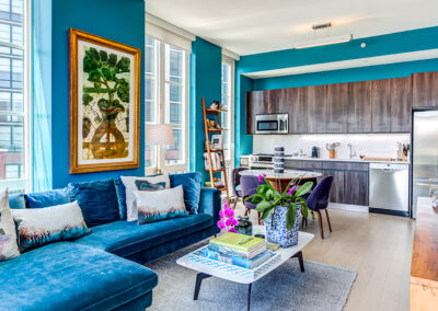 363 Bond Street apartment interior living room