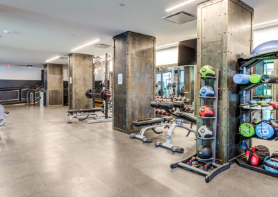 Fit by 363 state-of-the-art fitness center