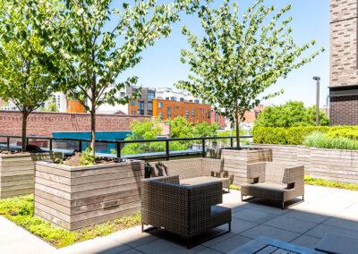 363 Bond Street outdoor lounge area