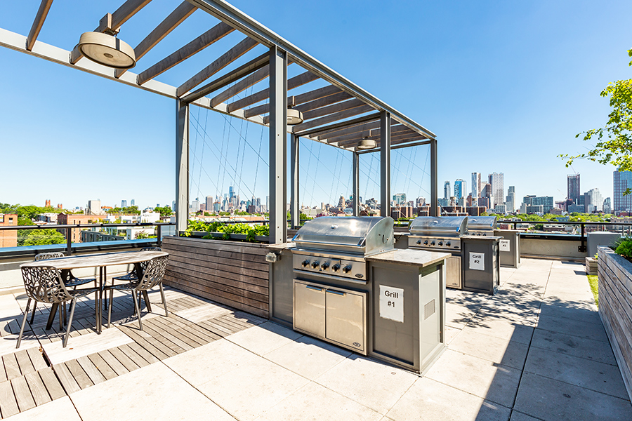363 Bond Street private bbq cabanas