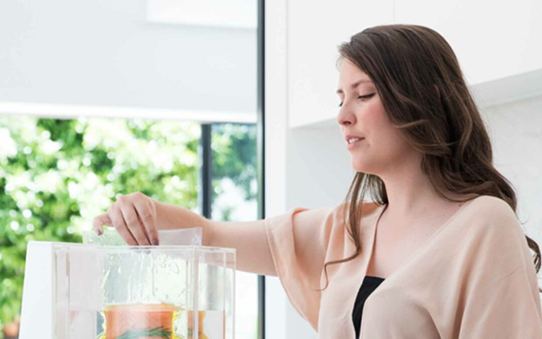 Luxurious Kitchen Technology for Apartment Residents