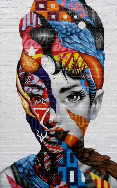 Tristan Eaton Mural 363 Bond Street